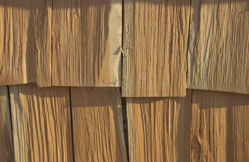 Woodpile en el pueblo imágenes de archivo libres de regalías