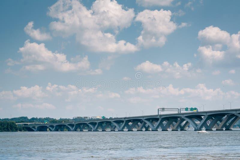 Woodrow Wilson Bridge, ? l'Alexandrie, la Virginie photo stock