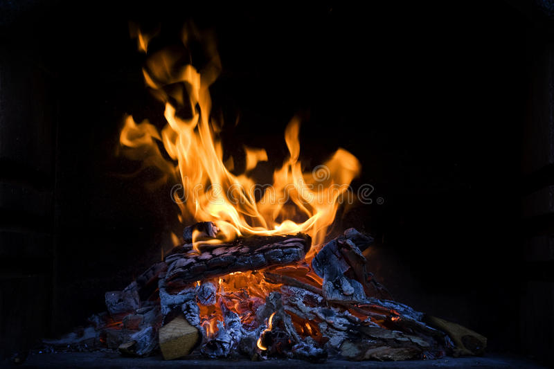 Download Woods on fire stock image. Image of glowing, burns, fires - 26640795