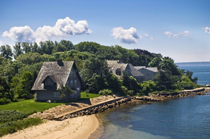 Download Woods Hole Shoreline stock photo. Image of coastline - 20449570