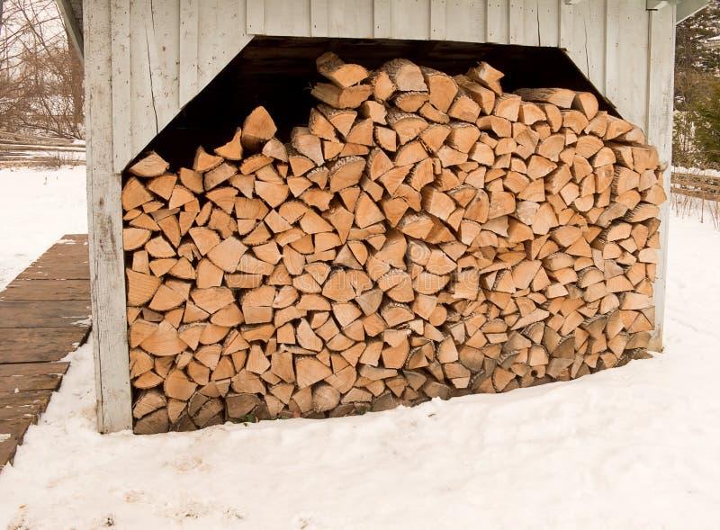 woodshed στοκ εικόνες