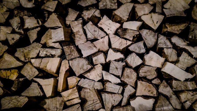 Woodwall fotografia stock