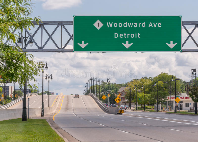 Woodward at 8 Mile Road, Woodward Dream Cruise. royalty free stock photography