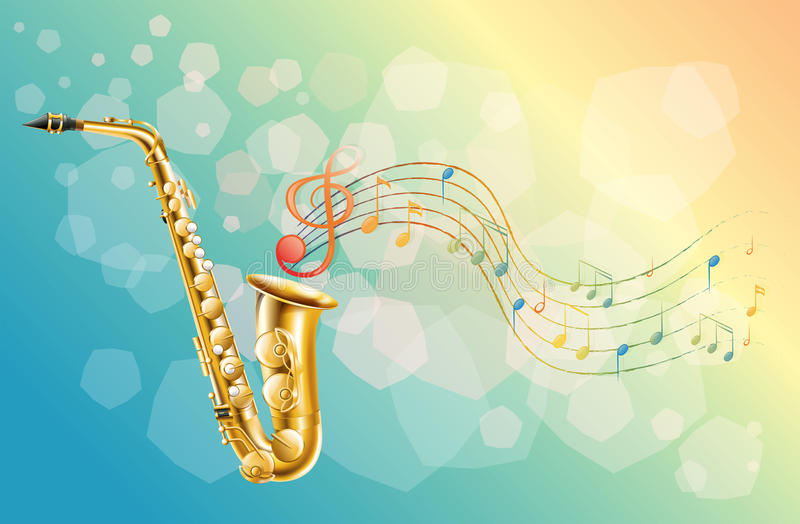 Download A woodwind instrument stock vector. Image of notes, illustration - 32201849