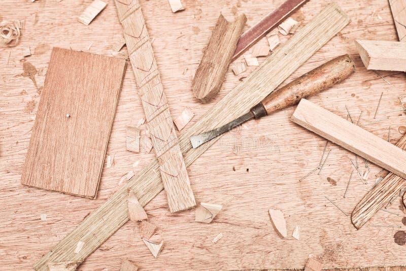 Woodwork fotografia stock
