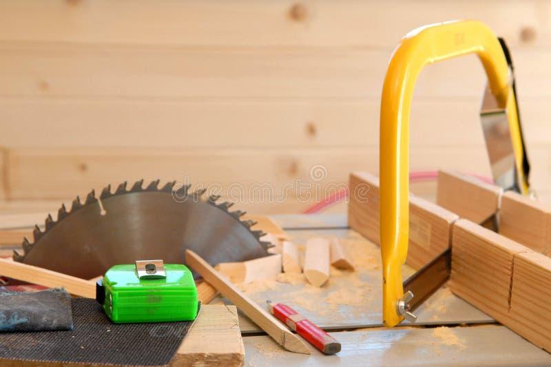 Woodwork imagem de stock