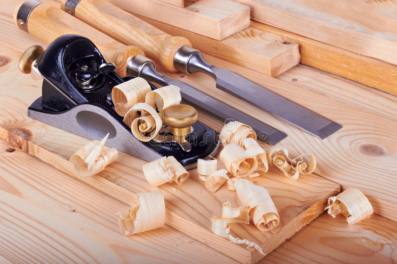 Woodworking royalty free stock image