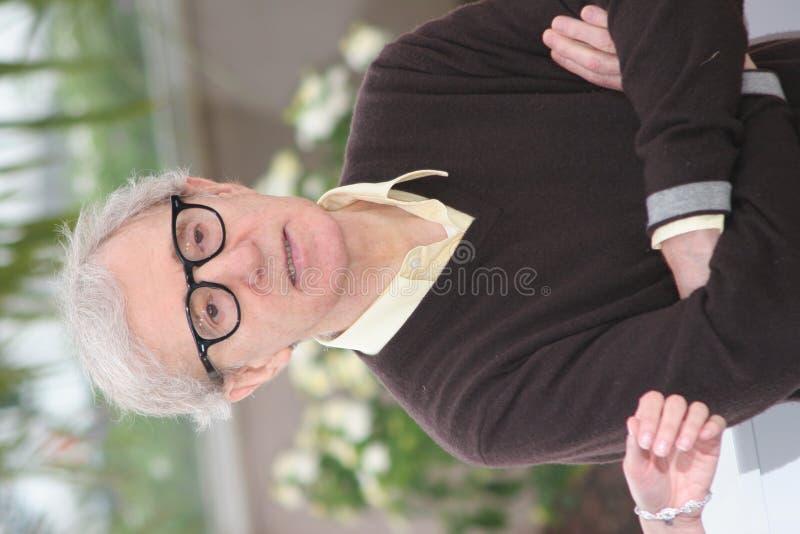 Woody Allen lizenzfreies stockbild