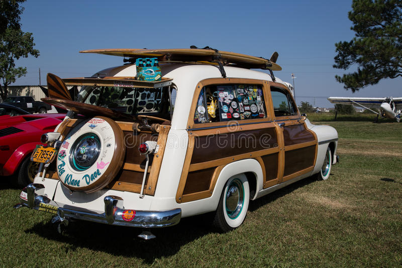 Woody Wagon arkivbilder