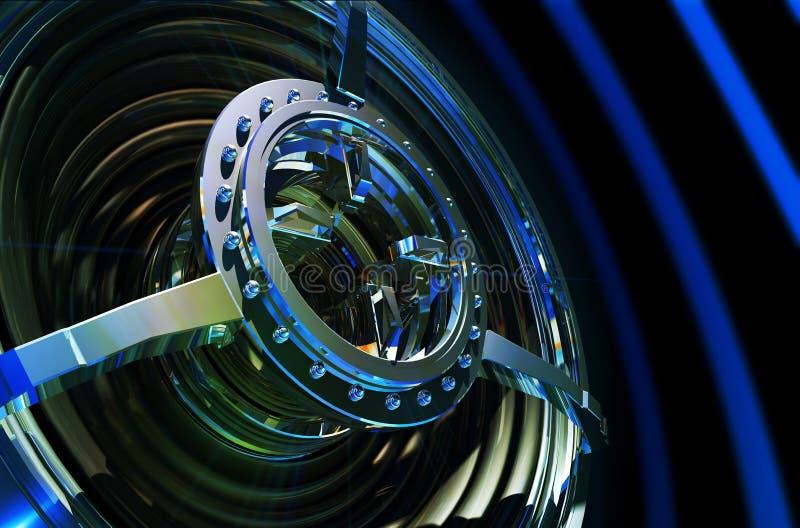 Woofer alta tecnologia di potenza illustrazione di stock
