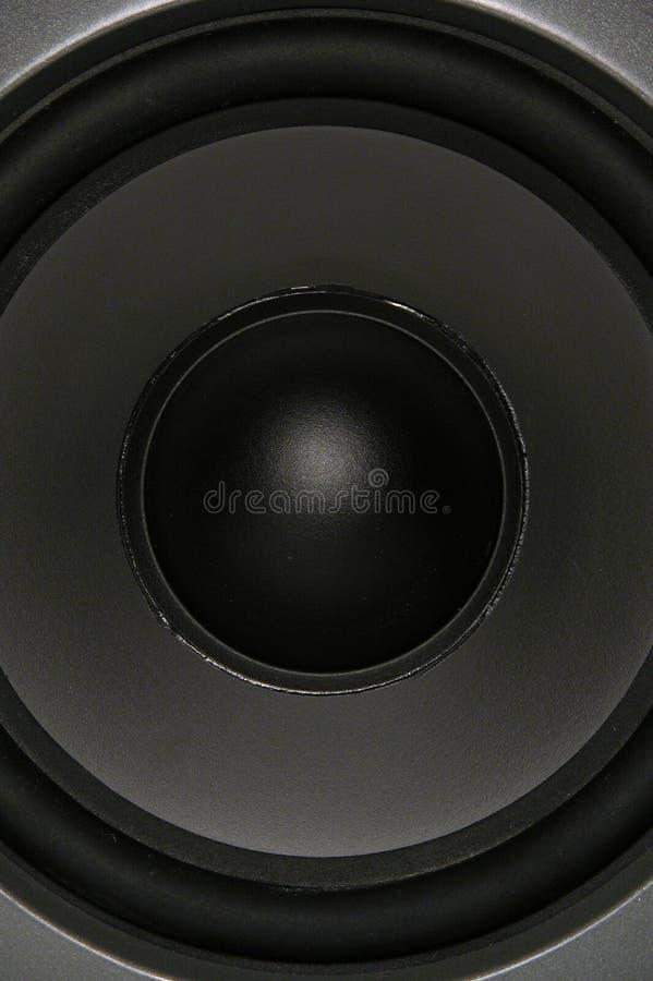 Woofer Cheio Do Frame Fotografia de Stock Royalty Free