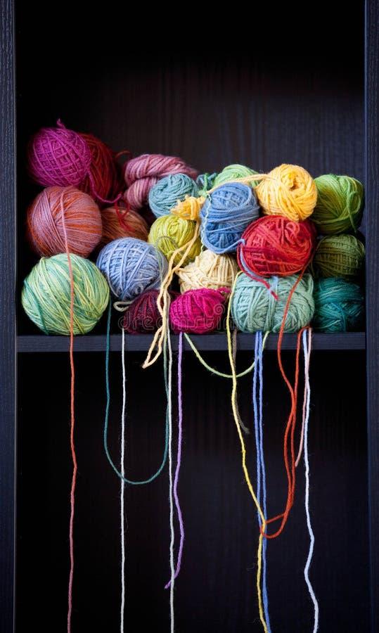 Download Wool stock image. Image of sewing, pink, skein, fiber - 23885353