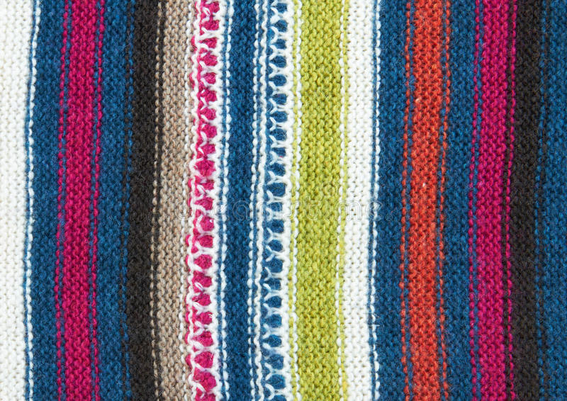 Wool Knit Pattern Royalty Free Stock Images