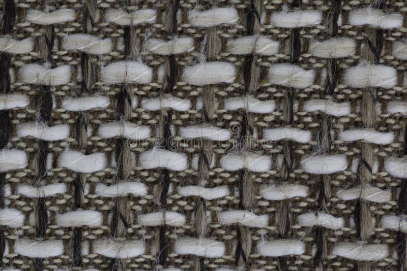 Wool macro. Wool patern of the seat stock photo