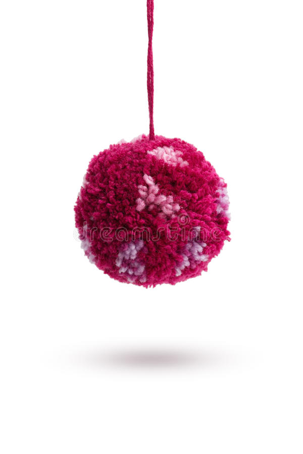 Wool Pom Poms royalty free stock images
