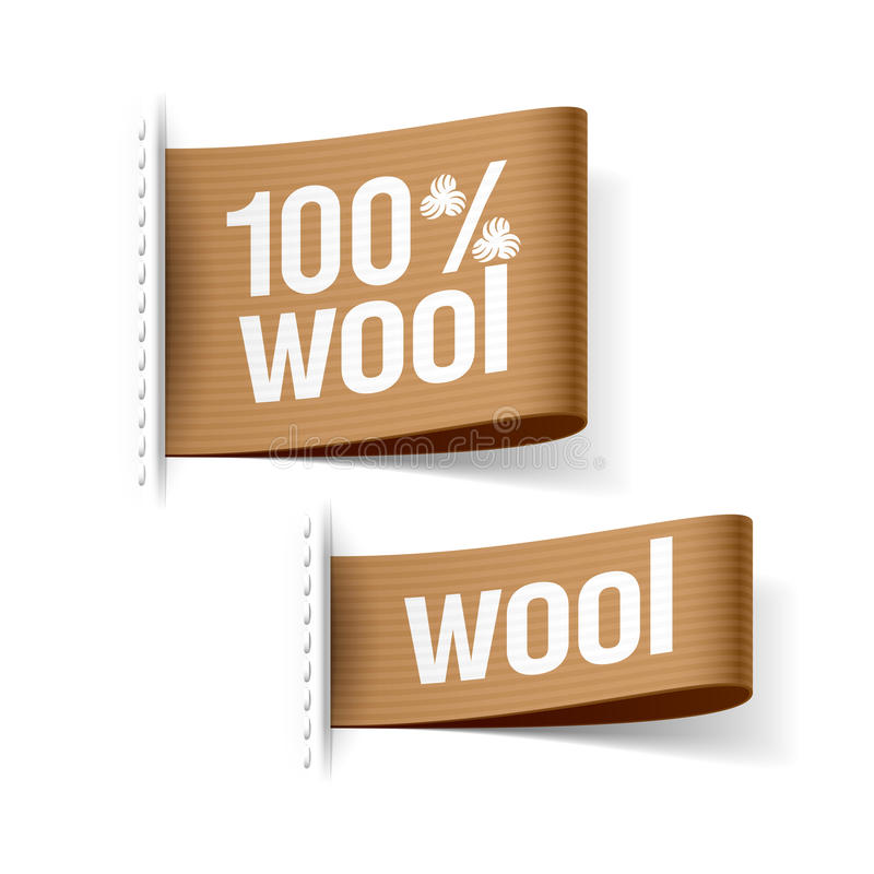 Download 100% wool product stock image. Image of accent, collection - 35942507