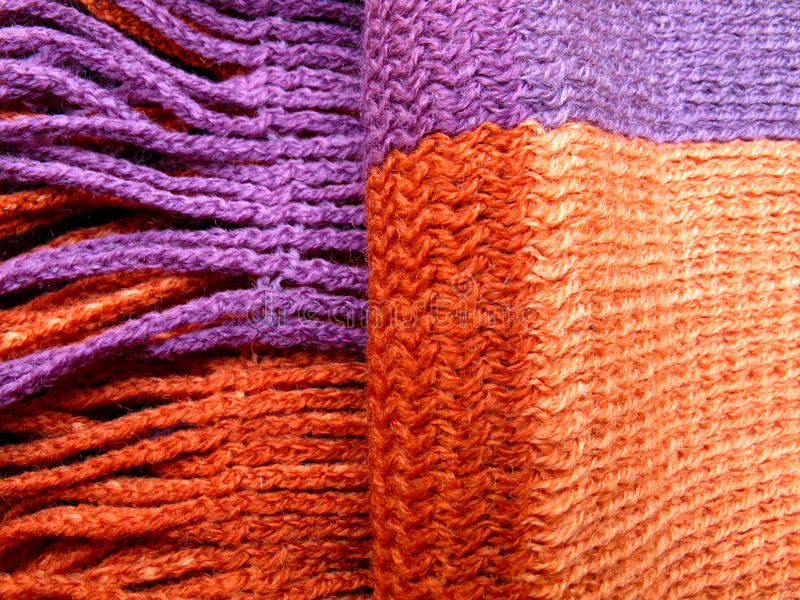 Wool Shawl Royalty Free Stock Photos