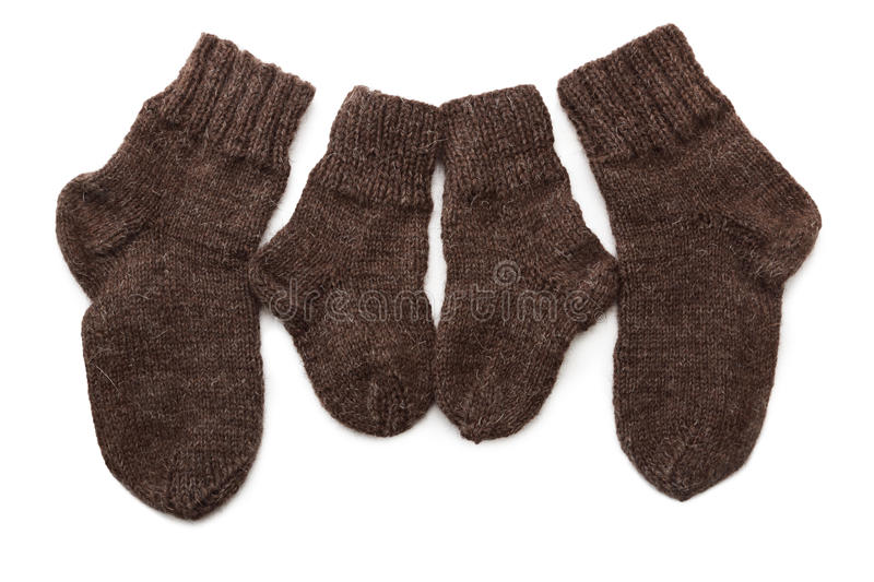 Download Wool socks stock image. Image of children, handmade, clothes - 23078533