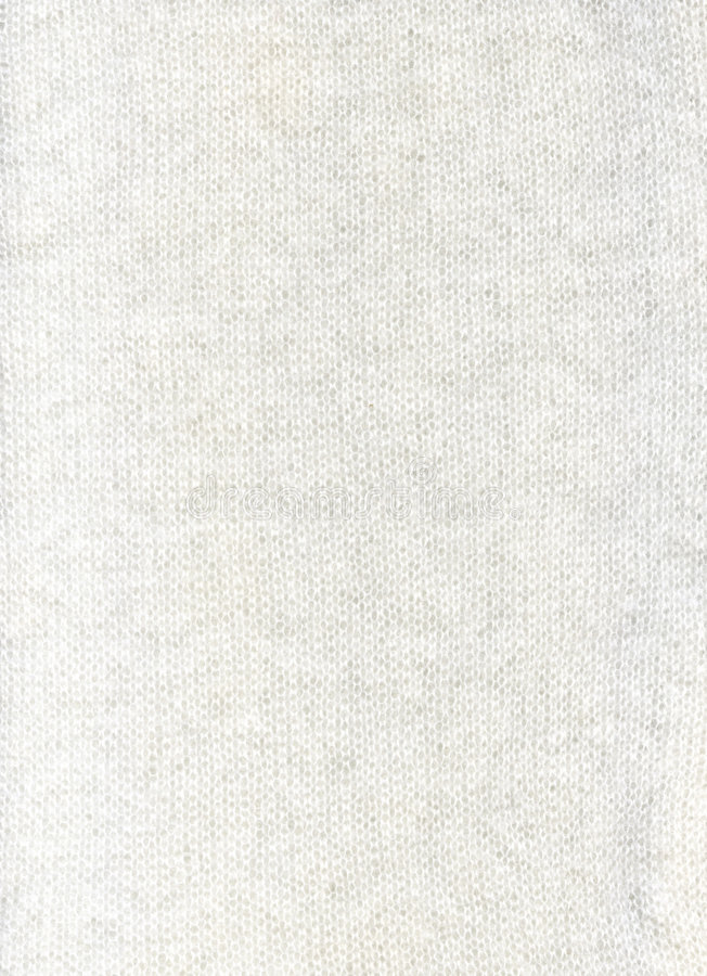 Wool White Fabric Textile Texture Royalty Free Stock Photography