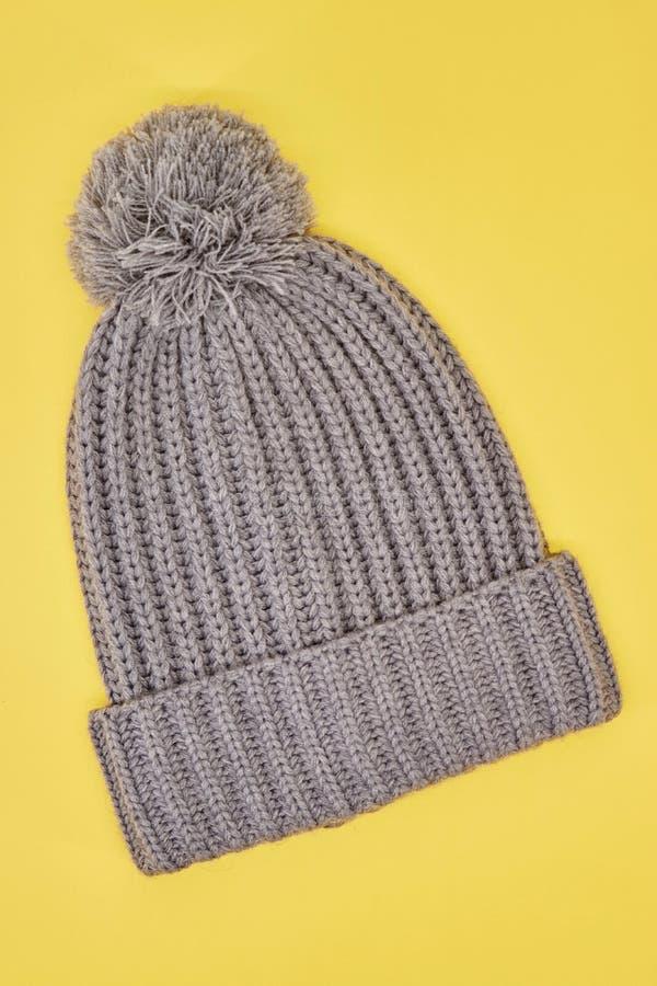 Woolen Beanie lizenzfreie stockbilder