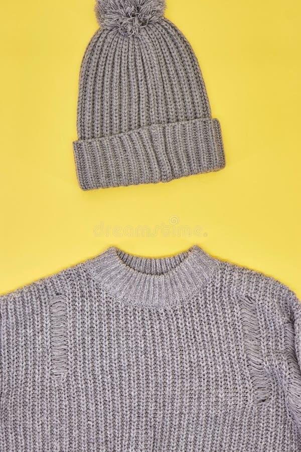 Woolen Beanie lizenzfreie stockfotos