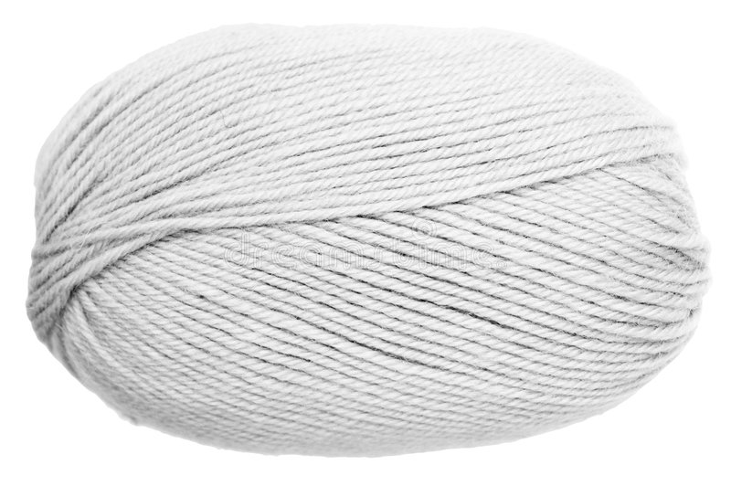 Woolen clew royalty free stock photo