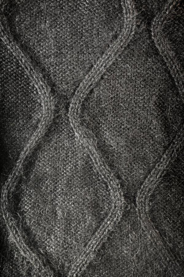 Woolen Fabric Gray Royalty Free Stock Photo