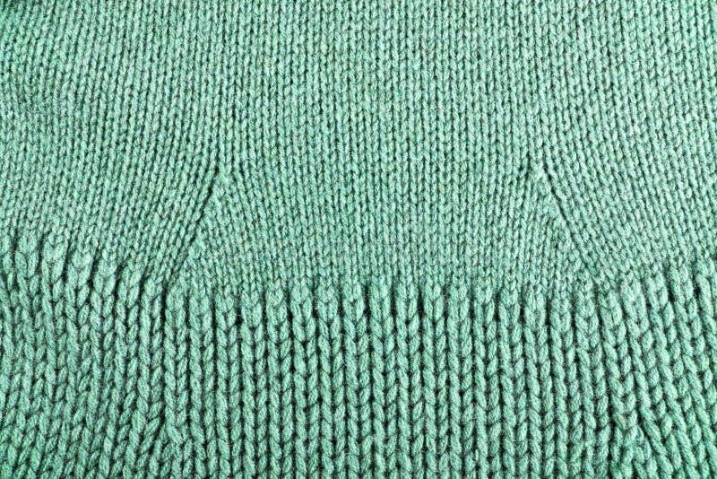 Woolen fabric green