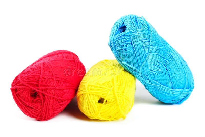 woolen garn royaltyfria foton