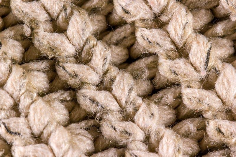 Woolen Garn stockbilder