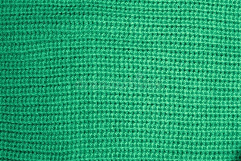 Woolen gestrickte Beschaffenheit der tadellosen Farbnahaufnahme lizenzfreie stockbilder
