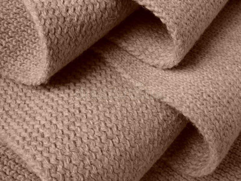 woollen scarf arkivfoto