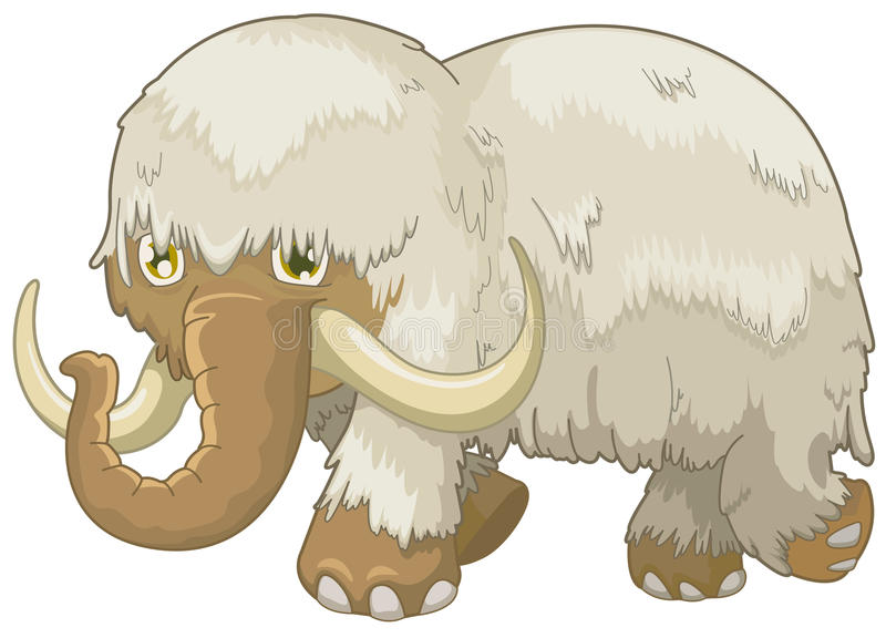 Download Woolly mammoth stock vector. Image of cute, caricature - 13583052