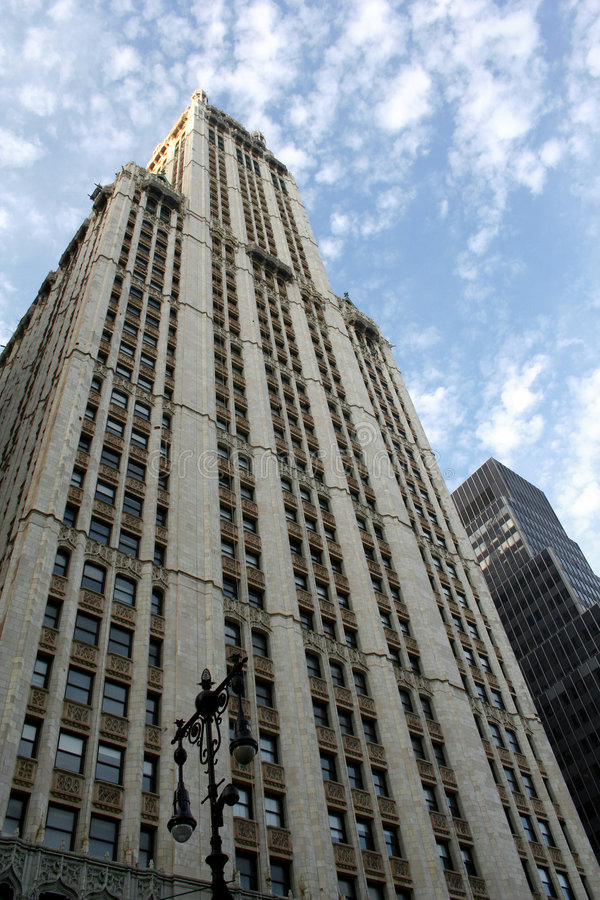Download Woolworth Building stock image. Image of historic, clouds - 1505447