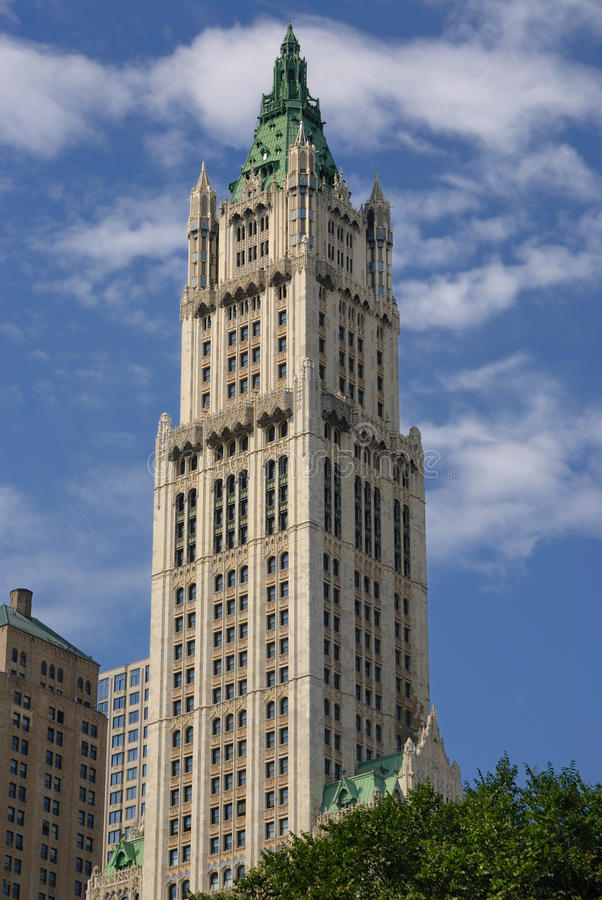 Download Woolworth Building editorial stock image. Image of neogothic - 17443619
