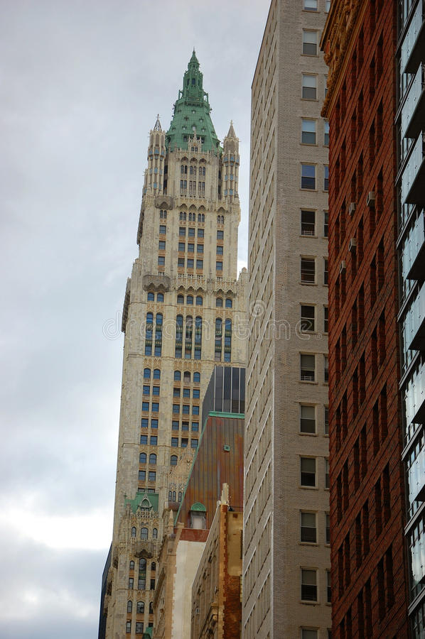 Download Woolworth Building In New York City Stock Photo - Image: 22486498