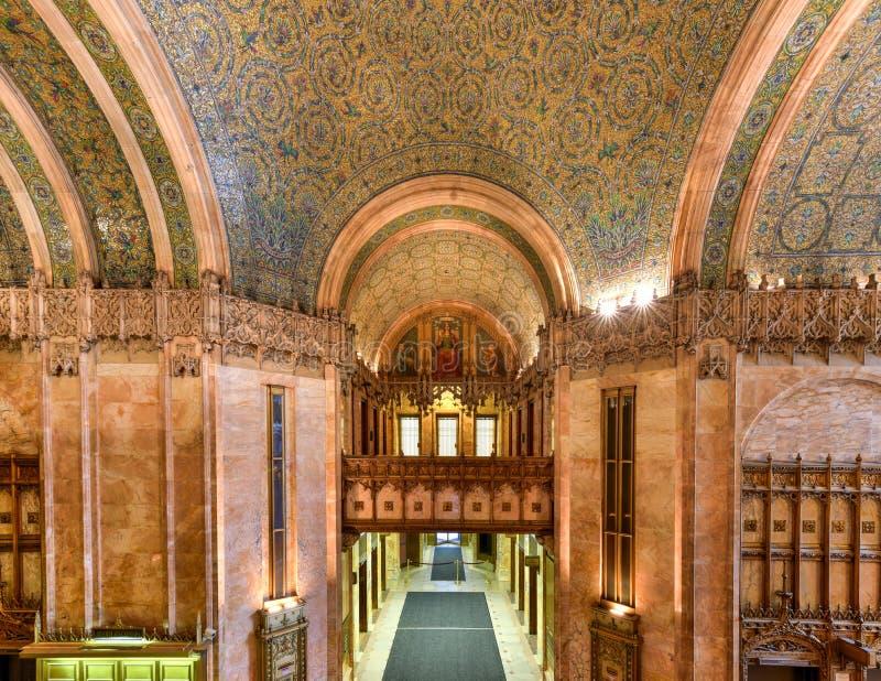 Woolworth byggnad - New York royaltyfri foto