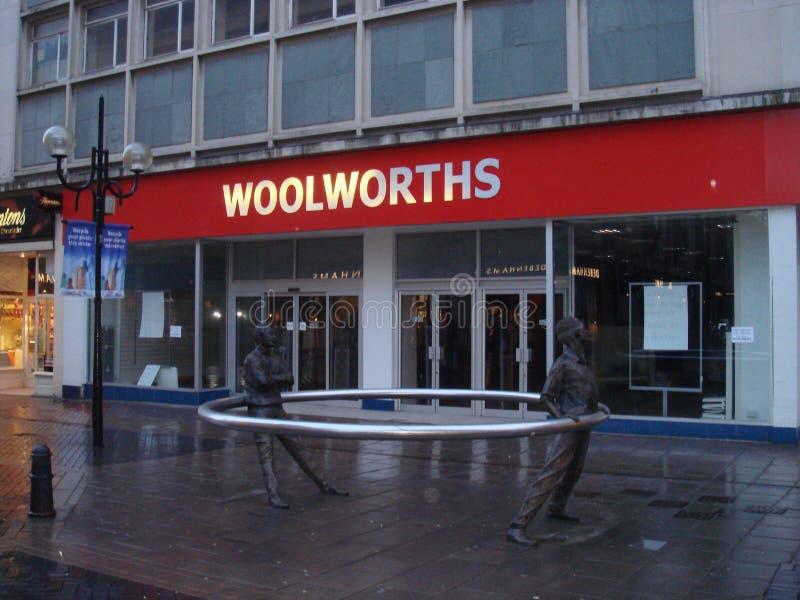 Woolworths stock afbeelding