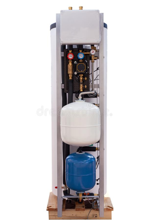 Woon Indirect Elektrisch Water Heater Tank royalty-vrije stock afbeeldingen