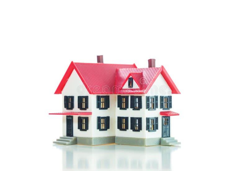 Woonhuis klein model royalty-vrije stock foto's