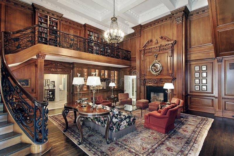 Woonkamer in luxehuis