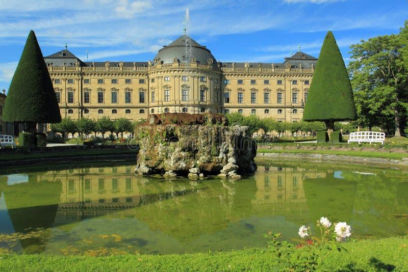 Woonplaats in Wurzburg royalty-vrije stock afbeelding