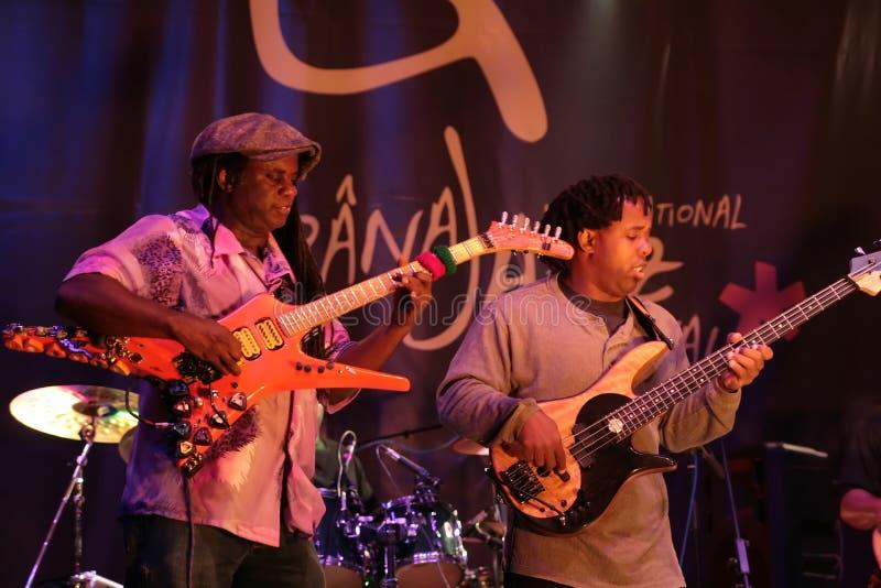 Wooten band, Jazz Festival stock image