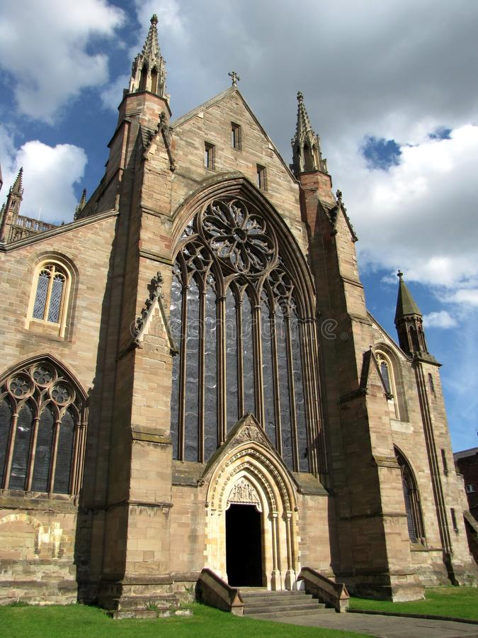 Worcester Cathedrale stock photo