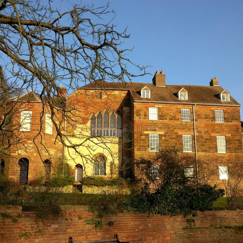 Worcester domkyrka royaltyfri fotografi