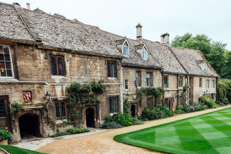 Worcester högskola i Oxford royaltyfria foton