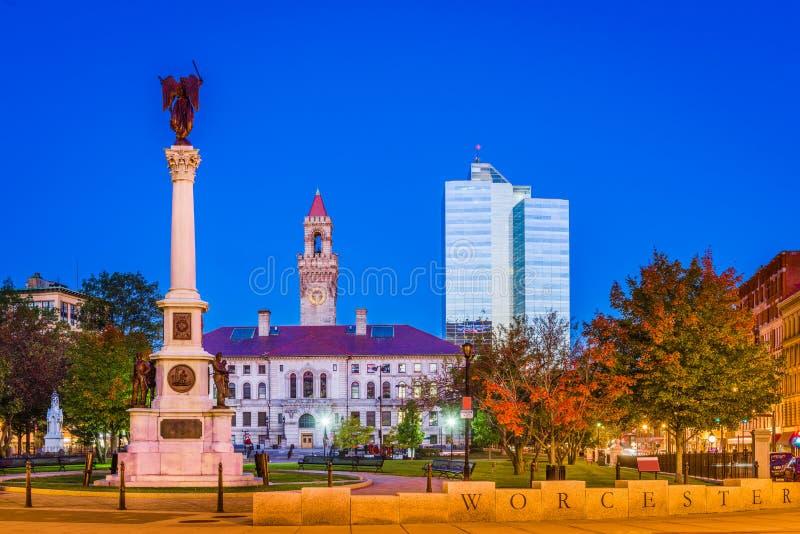 Worcester, le Massachusetts, Etats-Unis photos libres de droits