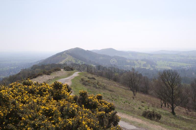 Worcestershire - collines scéniques de Malvern photos libres de droits