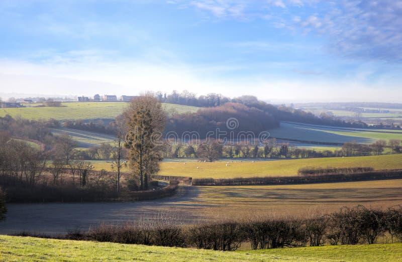 Worcestershire-Landschaft, England lizenzfreies stockfoto
