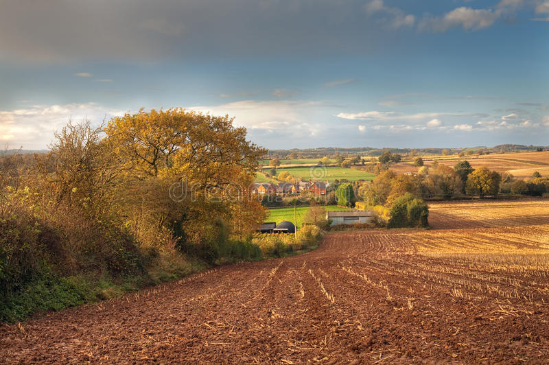 Worcestershire rural images stock